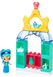 Playset Mega Bloks - Shimmer E Shine - Guarda-Roupa Da Shine - Mattel - Feminino-Incolor