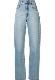 Nobody Denim Calça Jeans Reta Lou - Azul