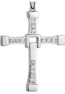 Pingente Crucifixo Vanglore 260301 Prateado