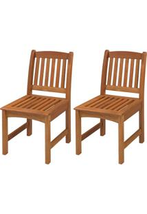 Cadeira Baixa Export (Kit Com 2) - Jatobã¡