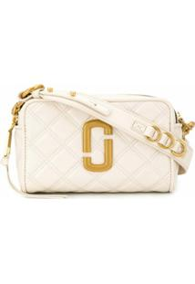 Marc Jacobs Bolsa Tiracolo The Quilted Softshot 21 - Neutro