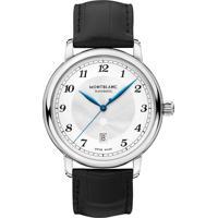 4fbeeeb49a0 Relógio Montblanc Masculino Couro Preto - 116511
