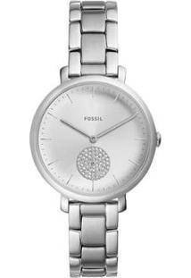 Relógio Fossil Jacqueline Feminino - Feminino-Prata