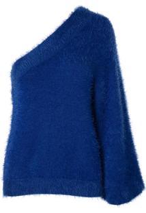 Blusa Asymmetric (Azul Medio, Gg)