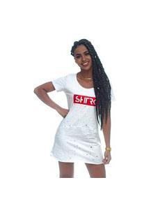 Vestido Shatark Flakes - Branco
