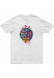 T-Shirt Feminina Aspiral Dv010 Branca - Branco - Poliã©Ster - Dafiti