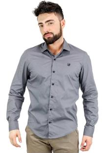 Camisa Norfolk Lisa Com Bordado - Masculino