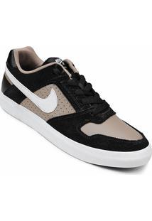 Tênis Nike Sb Delta Force Vulc Masculino - Masculino-Bege+Preto
