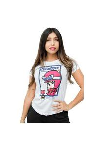 Camiseta Sideway Penelope Charmosa - Branca