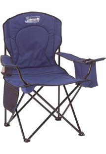 Cadeira Dobrável Com Cooler Azul 110120002188 Coleman