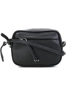 Bolsa Anacapri Mini Bag Pqn Mini Relax Feminina - Feminino-Preto