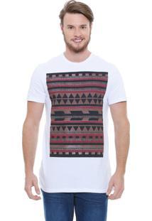 Camiseta Masculina Estampa Étnica Marisa