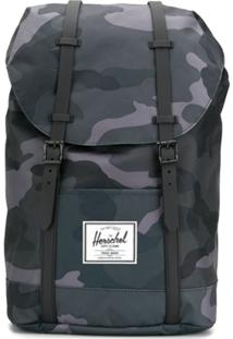 Herschel Supply Co. Mochila Retreat Com Estampa Camuflada - Verde