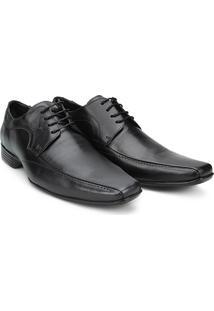 Sapato Social Mariner Lance Masculino - Masculino-Preto