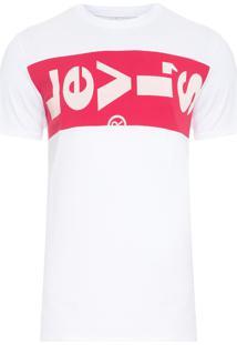 Camiseta Masculina Manga Curta Levi'S - Branco