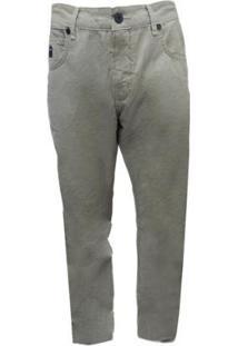 Calça Walk Oakley Stoned Cord Pant - Masculino-Bege