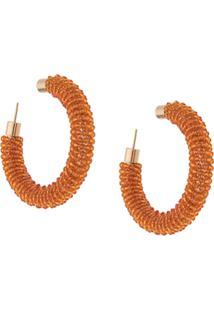 Jacquemus Les Creoles Brila Earrings - Laranja