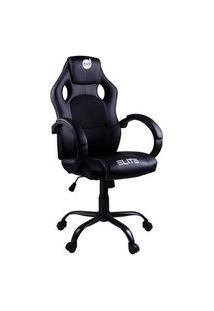 Cadeira Gamer Dazz Elite, 100 Kg, Mecanismo De Ajuste Butterfly, Black - 624761