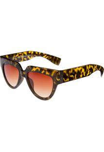 Zattini. Óculos Ray Flector Buckingham - Feminino-Amarelo+Preto 39a45bb0bf