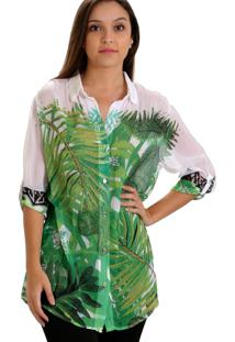 Camisa 101 Resort Wear Chemise Verde