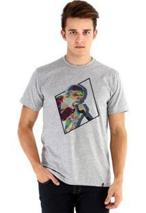 Camiseta Ouroboros Manga Curta Chester Be. - Masculino-Cinza