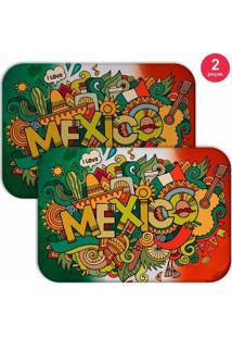 Jogo Americano Love Decor Mexico Verde