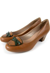 Sapato Miuzzi Caramelo - Kanui