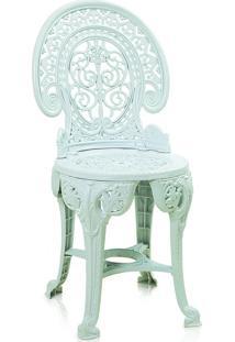 Cadeira Estilo Colonial Plástico Branca Antares