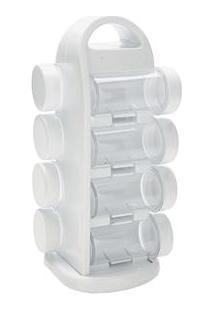 Porta Condimentos Mimo Style Com 8 Peças