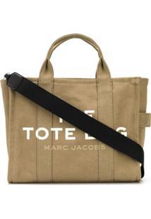 Marc Jacobs Bolsa Tote Oversized - Neutro