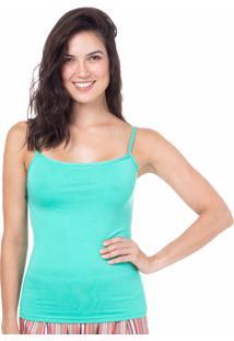 Camiseta Regata Homewear Verde - 589.0720 Marcyn Lingerie Pijamas Verde