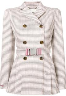 Fendi Jaqueta Trench - Neutro