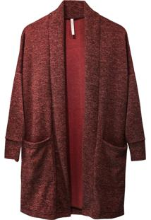 Cardigan Tea Shirt Anis Bordo - Tricae