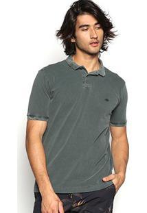 Camisa Polo Triton Estonada Masculina - Masculino-Verde