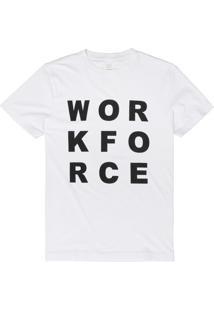 T-Shirt West Coast Workforce Branco