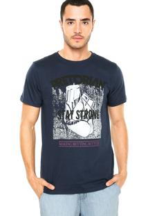 Camiseta Pretorian Stay Strong Azul Marinho