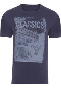 Camiseta Masculina Manga Curta 1978 Corrosão - Azul Marinho