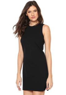 Vestido Calvin Klein Decote Redondo feminino   Shoelover b7ad168919