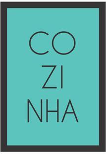 Quadro Decorativo Copa Bar 22X32Cm