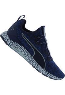 Tênis Puma Hybrid Runner - Masculino - Azul Esc/Azul