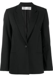 Victoria Victoria Beckham Slim Blazer Jacket - Preto