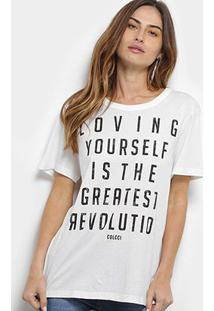 Camiseta Colcci Loving Yourself Feminina - Feminino