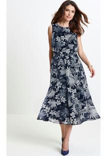 11e19a874 Vestido Estampado Transparente feminino | Shoelover