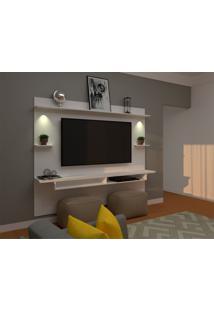 Painel Para Tv Até 60 Polegadas Lais Branco 180X218 Cm