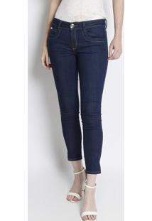 Jeans Low Second Skinny - Azul -Lança Perfumelança Perfume