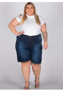 Bermuda Oversize Almaria Plus Size Shyros Jeans Az