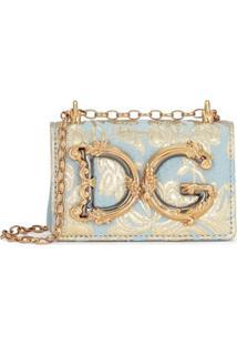 Dolce & Gabbana Bolsa Dg Girls Micro - Azul