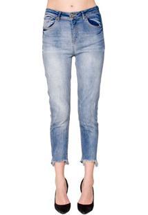 Calça Jeans Barra Assimétrica Alphorria
