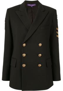 Ralph Lauren Collection Blazer Estruturado - Preto