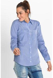 328dfe88f Camisa Bonprix Listras feminina